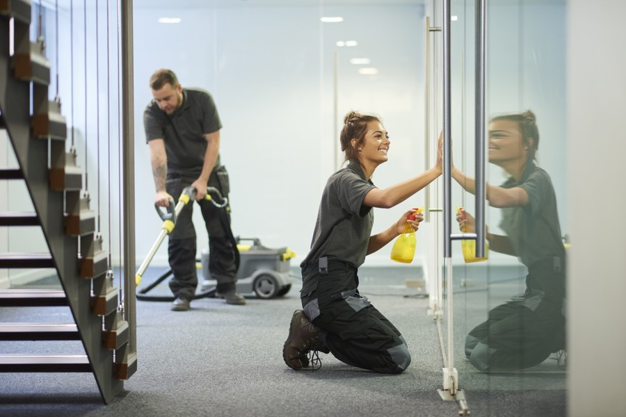 Janitorial Services by Urgent Property Services